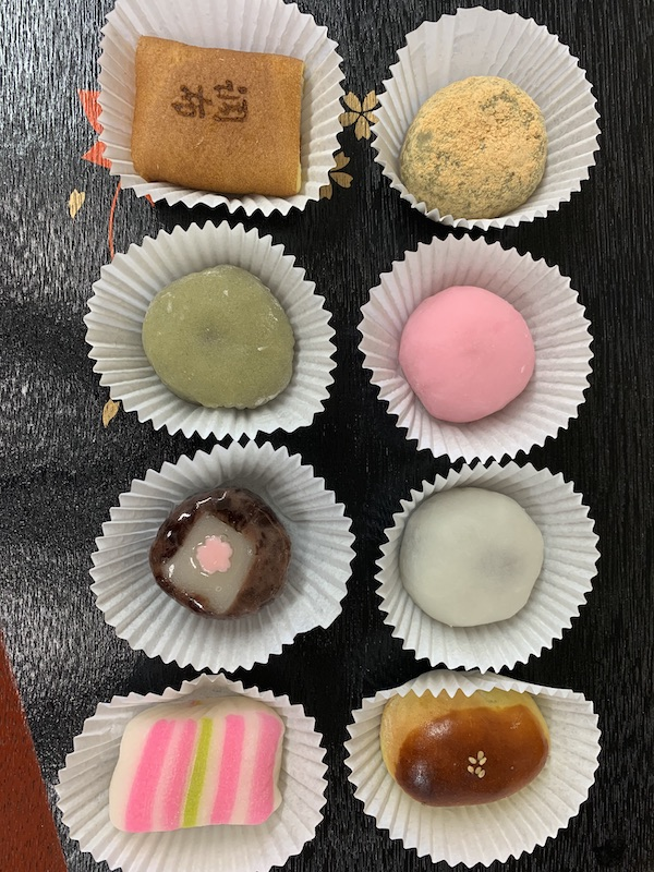 Wagashi 8 Piece* - For those who would like the various flavors and shapes to get a wide assortment.