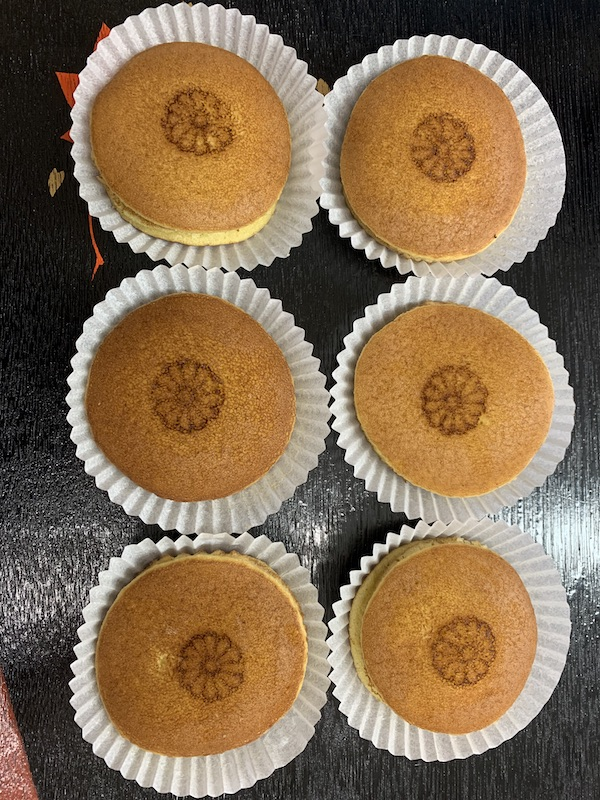 Wagashi-Dorayaki - If you have a taste for the combination of ahn and cake, this is the treat for you!